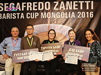 Barista cup Mongolia 2016 competition